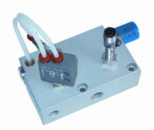 Vakuumejektor mit Selbstabschaltung und elektrischer Abfrage